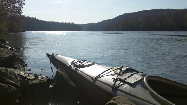 Kayaking near Greenfield