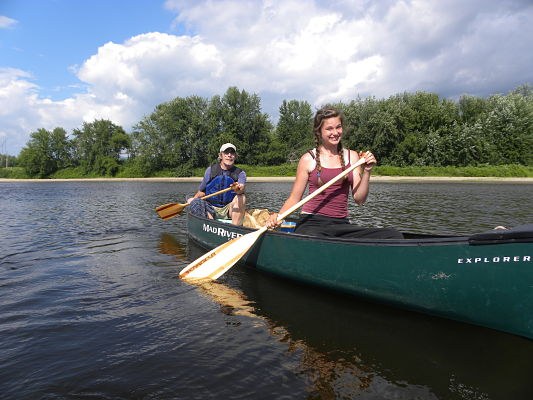 Canoeing From Canaan To Guildhall